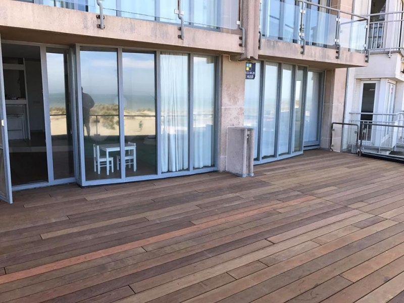 Aménagement exterieur terrasse Niewpoort