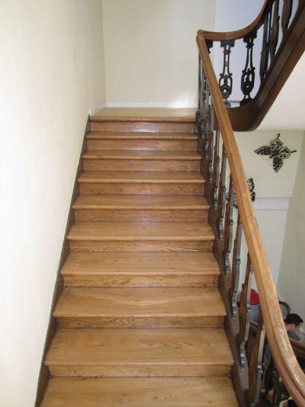 Restauration d'un escalier – Tournai
